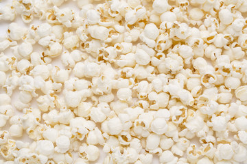 salted popcorn, texture background.