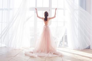 Bride`s morning