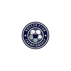 Football club, championship , Soccer logo. Vector Illustration