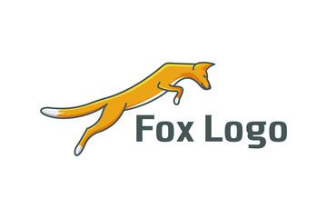 fox logo template vector illustration