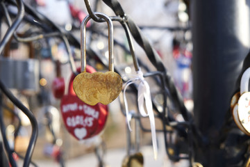 love tree with locks