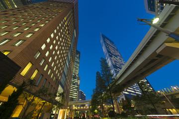 東京夜景・汐留