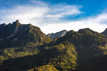 Mountain Doi Luang, Chiang Dao, Thailand