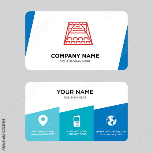 Stage business card design template imagens e vetores de stock stage business card design template reheart Choice Image