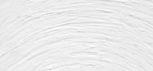 White background for a greeting card template for a wedding. Texture paint with the effect of light-colored wallpaper with strips and stains.
