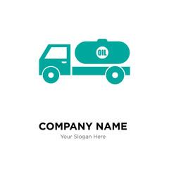 tipper company logo design template