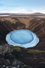 Vulkan Gletscher Eis Island