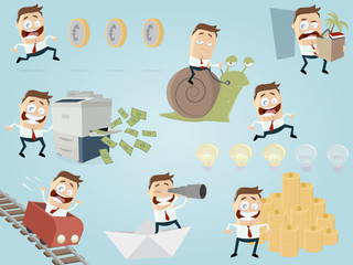 funny businessman collection