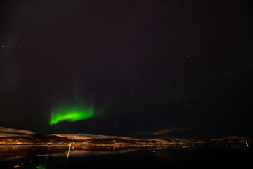 Northern Europe Norway Kirkenes Northern lights Aurora 北欧 ノルウェー キルケネス オーロラ