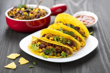 Mexican food - delicious tacos