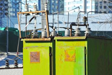 AC substation high voltage