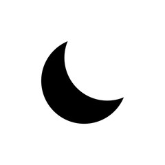 crescent icon. Element of minimalistic icon for mobile concept and web apps. Signs and symbols collection icon for websites, web design, mobile app