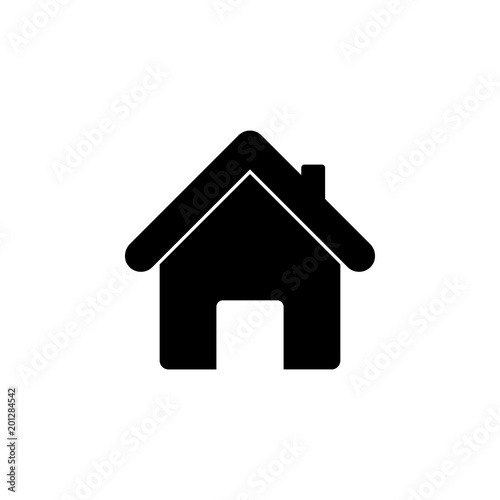 House Icon Element Of Minimalistic Icon For Mobile Concept And Web