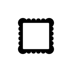 picture frame icon. Element of minimalistic icon for mobile concept and web apps. Signs and symbols collection icon for websites, web design, mobile app