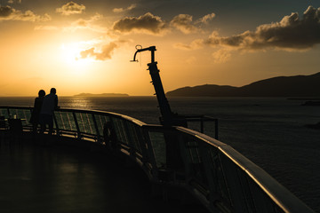 Caribbean Cruise Sunset