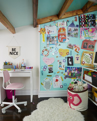 Interior view of kid's playroom