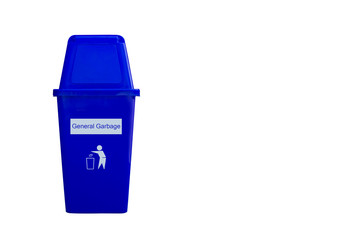 General garbage isolated