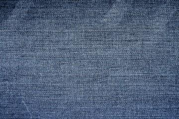 Frayed denim fabric texture