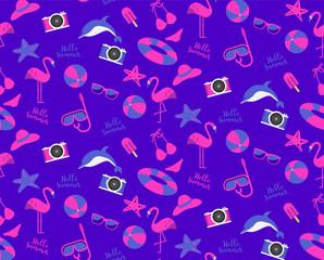 travel summer seamleaa pattern