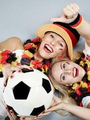 Girly soccer fans