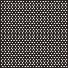 Seamless Background with big Polka Dot pattern. Polka dot fabric. Retro vector white on  background
