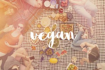 Vegan friends meeting