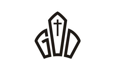 God / Jesus / Crown / Church logo design inspiration