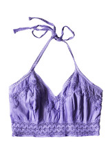 Purple top isolated