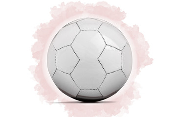 Digital Artwork sketch of a Soccer ball