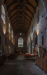Brecon Cathedral, Wales, UK (Interior)