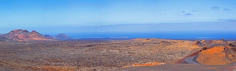 Lanzarote, Panorama Timanfaya Nationalpark