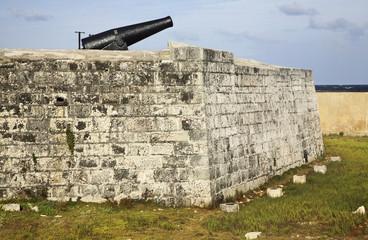 San Salvador de la Punta Fortress in Havana. Cuba