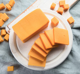 Fototapete - Cheddar cheese