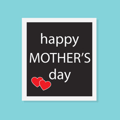 Mother's day concept- vector illustration