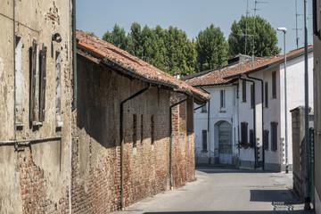 Borghetto Lodigiano (Italy): historic farm
