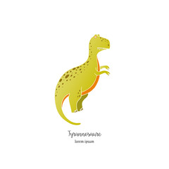 Vector dinosaur illustration