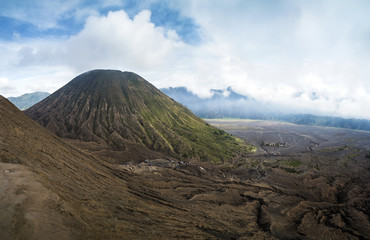Mount Bromo volcano, Tengger Semeru National Park, East Java, Indonesia