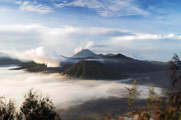 Mt Bromo landscape, East Java, Indonesia