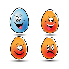 emoticon egg logo