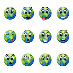 facial expressions on earth