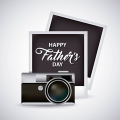 happy fathers day pictures camera celebration dad date vector illustration