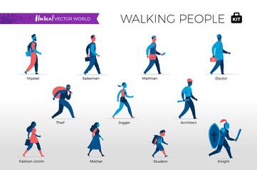 Personaggi che camminano