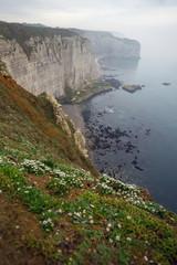 beautiful landscapes of Etretat