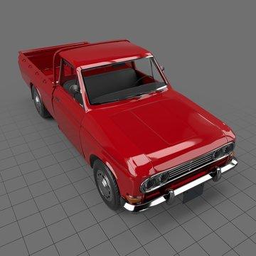Mini pickup truck