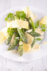 asparagus and parmesan