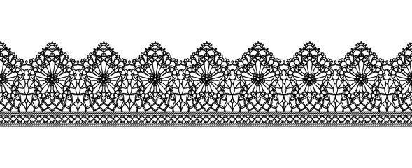 Seamless Vector Lace Pattern