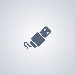 Flash card icon, usb icon