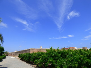 Mascarell (Castellon,España) conocido también como Murallas de Mascarell, sito en el núcleo poblacional de Mascarell, dentro del municipio de Nules, Plana Baja