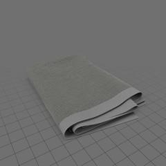 Folded blanket 2