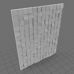 Decorative wall tiles (quads)